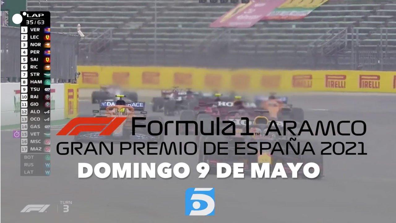 Fórmula 1 gratis GP España Telecinco