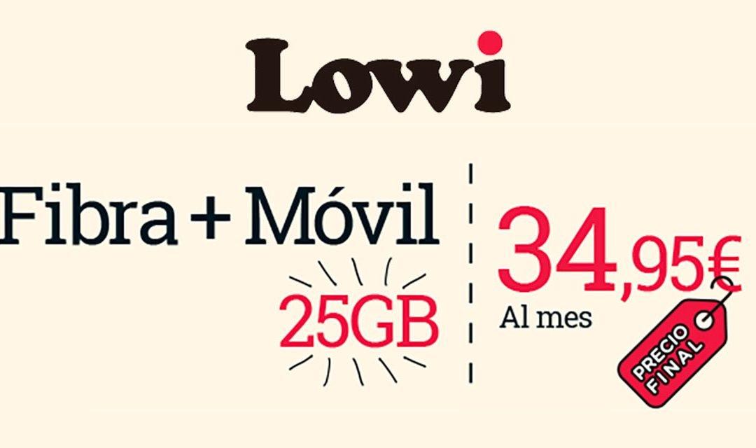Lowi se pone las pilas: más gigas gratis en el móvil y fibra con hasta 600 megas