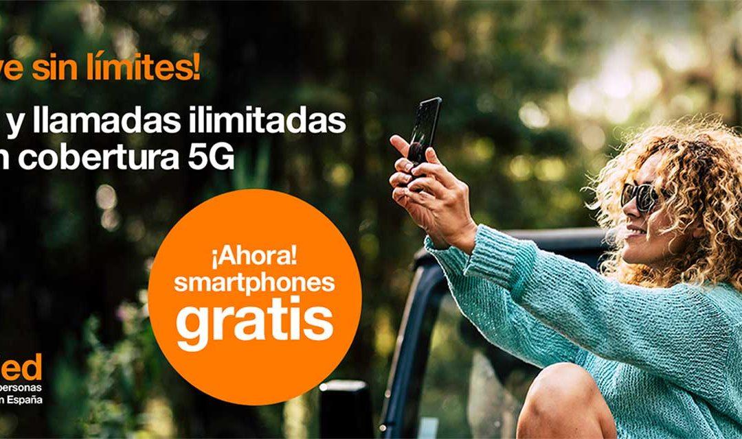 Orange entra en la guerra de los smartphones 5G gratis