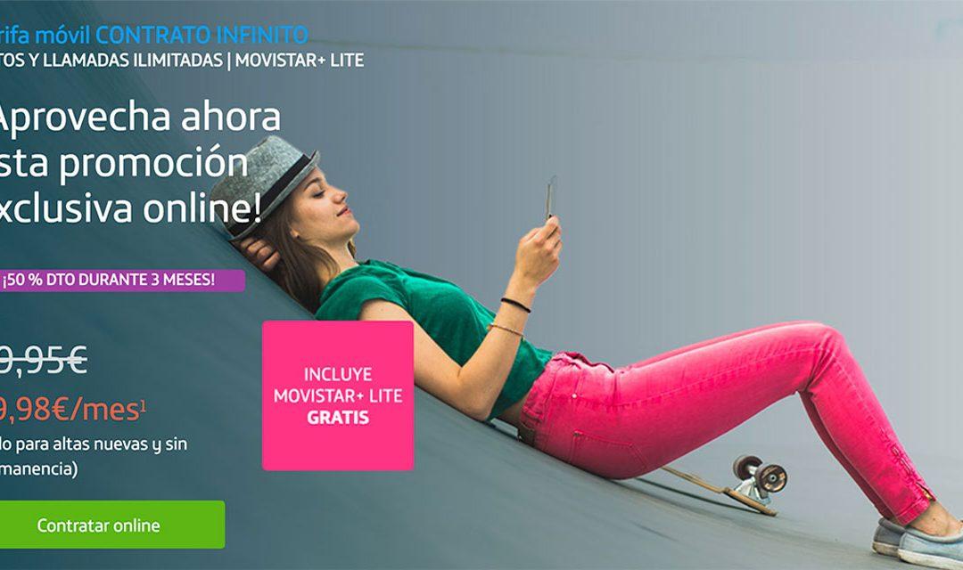 Datos ilimitados por menos de 20 euros: vuelve la promoción de Movistar