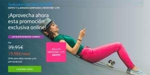 Promoción Movistar Contrato Infinito mayo 2021