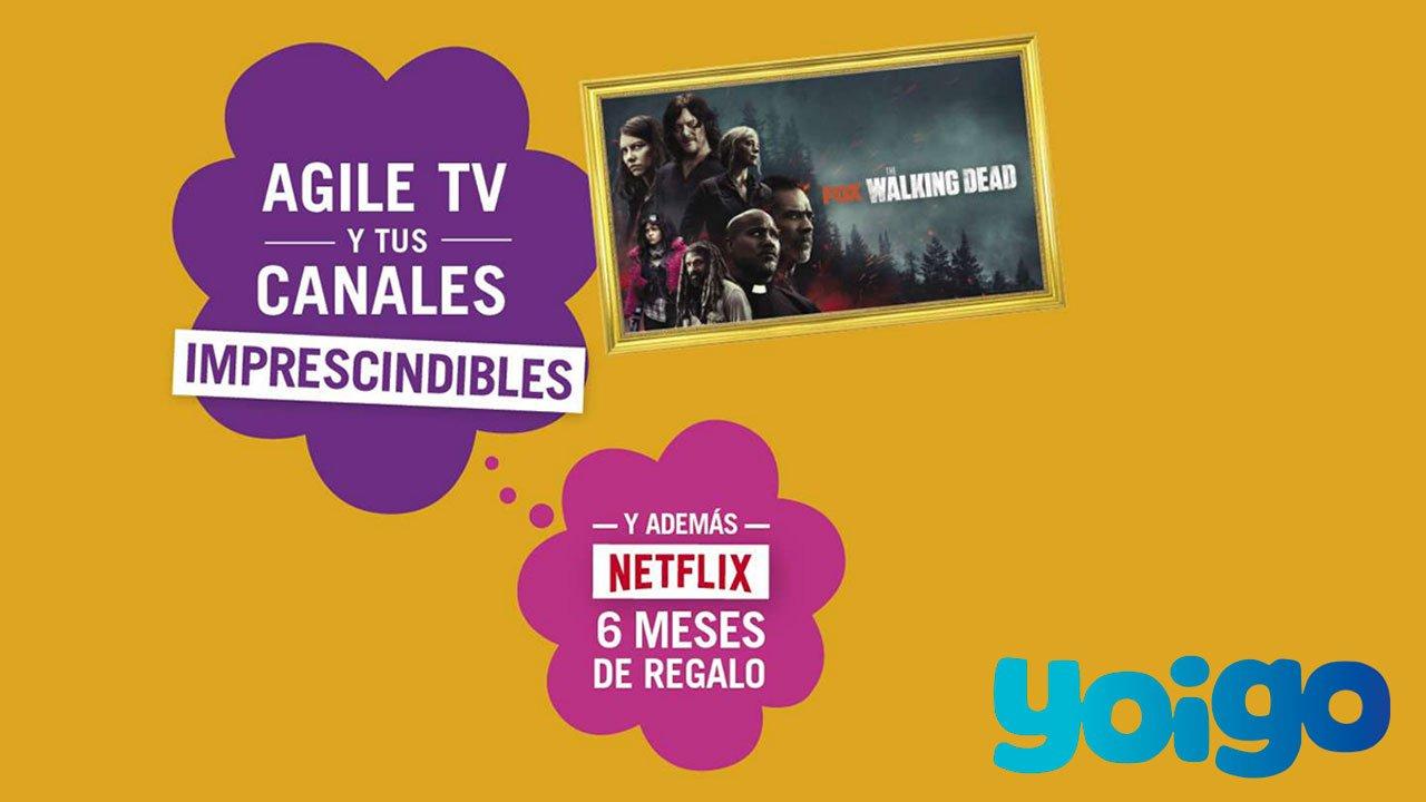 Yoigo promo Netflix Agiletv