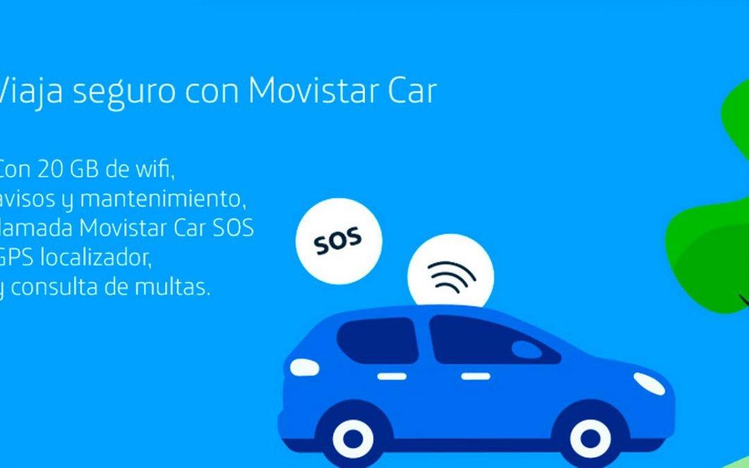 Movistar Car ahora incluye 20 GB al mismo precio e incorpora aviso de multas