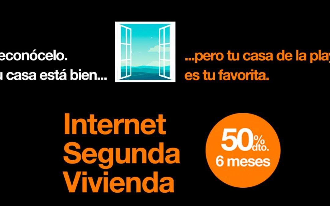 Orange rebaja Internet segunda vivienda y 4G en casa un 50% durante 6 meses