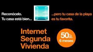 Ofertas Orange internet segundas residencias