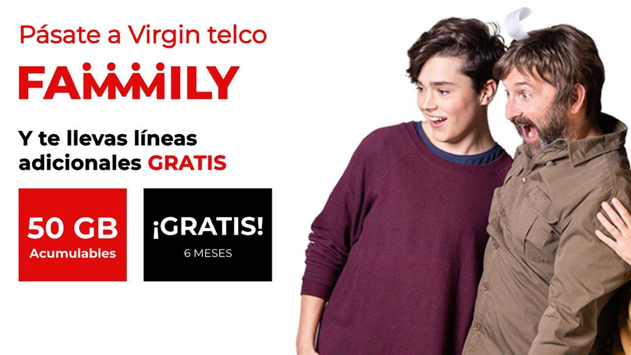 Promo Virgin 50 GB gratis