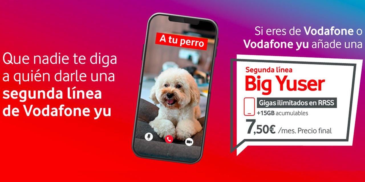 Vodafone yu líneas adicionales