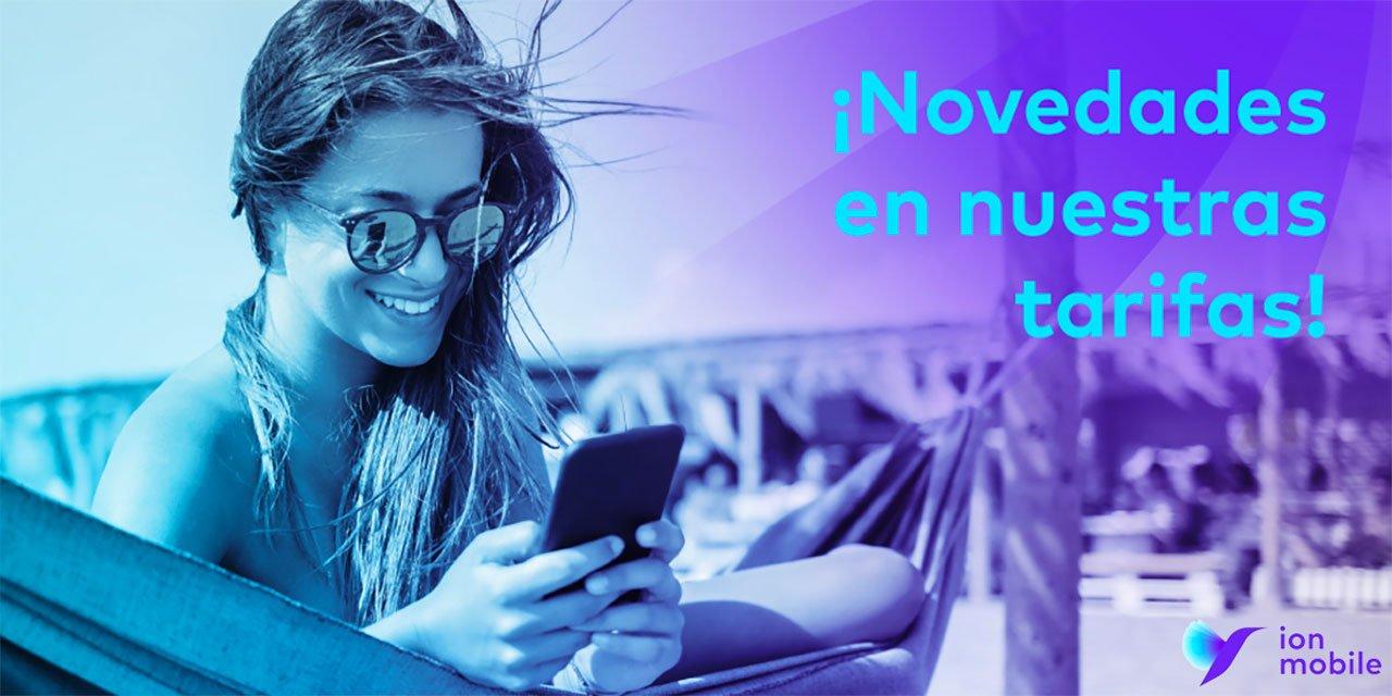 Ion Mobile renovación tarifas, julio 2021