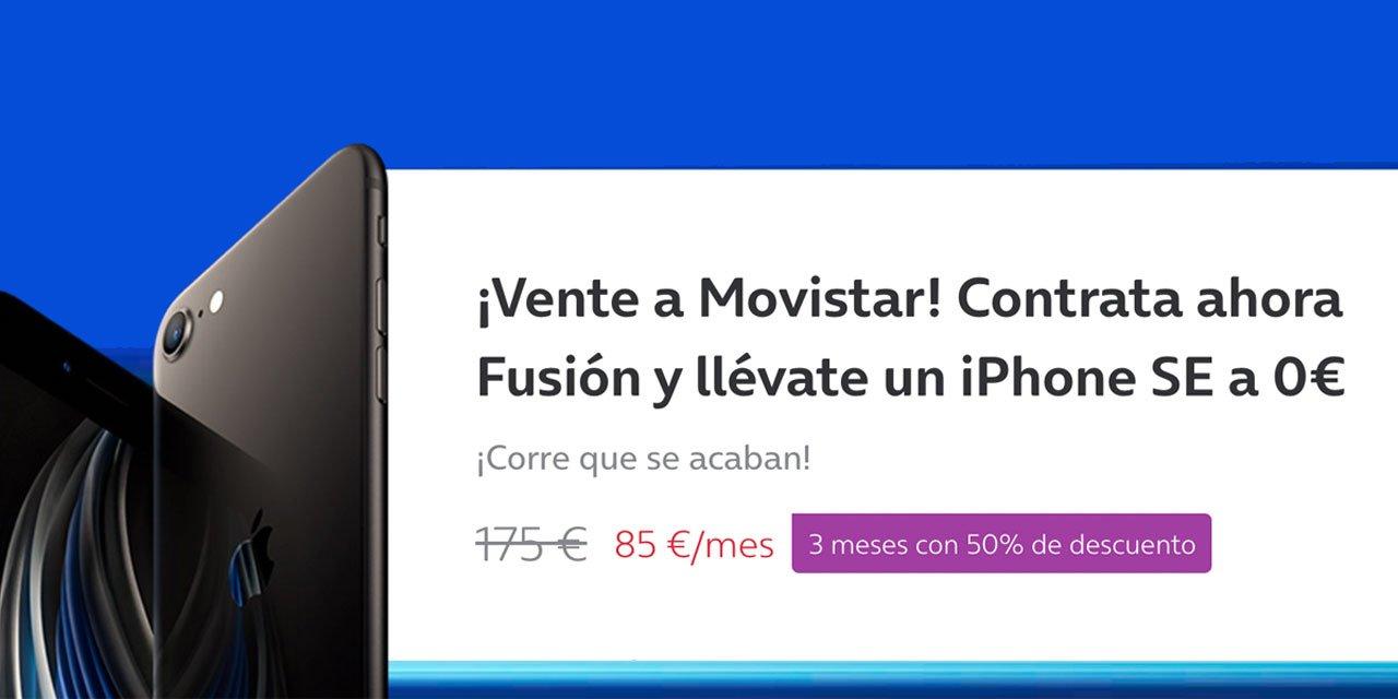 Movistar iPhone gratis, julio 2021