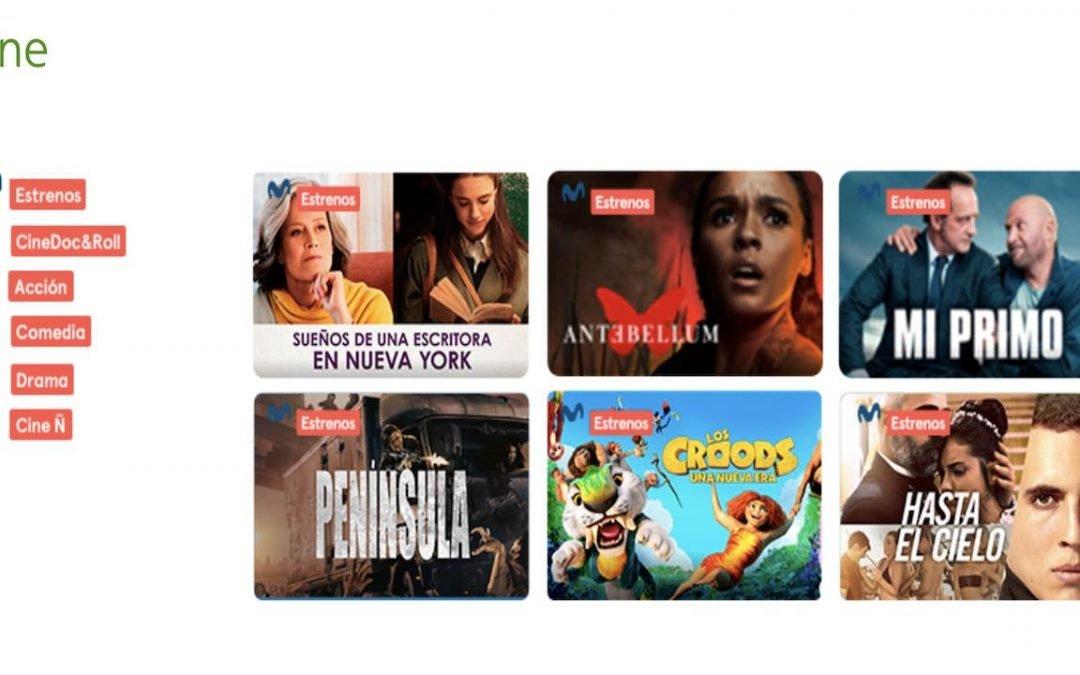 Movistar+ crece con nuevos canales dedicados en exclusiva al cine