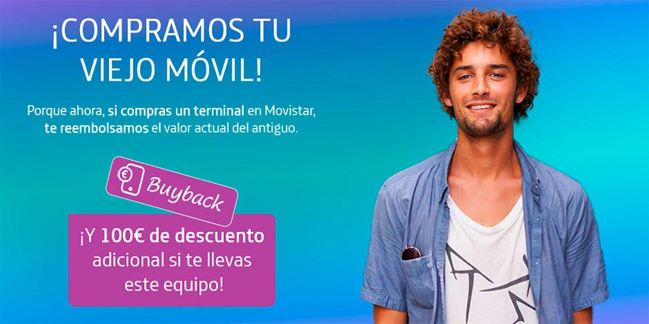 Movistar promoción buyback, verano 2021
