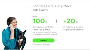 Sweno tarifas lanzamiento promos
