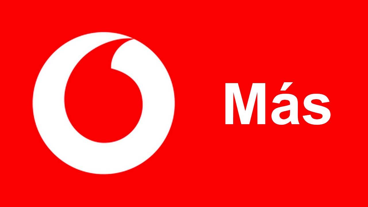 Tarifas Vodafone Más