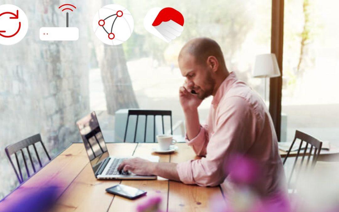 Vodafone lanza el internet para segundas residencias más flexible del mercado