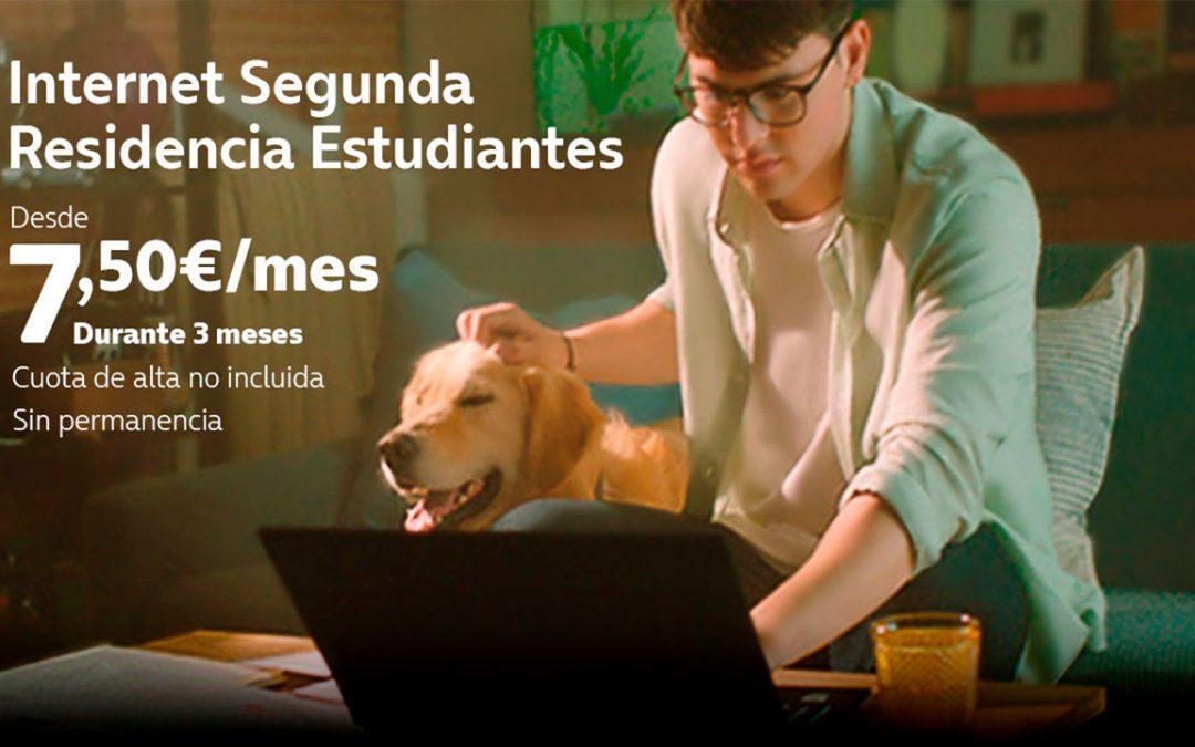 Movistar también tiene su oferta de internet para estudiantes, pero sólo para clientes de Fusión