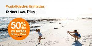 Nuevas tarifas Love Orange, agosto 2021