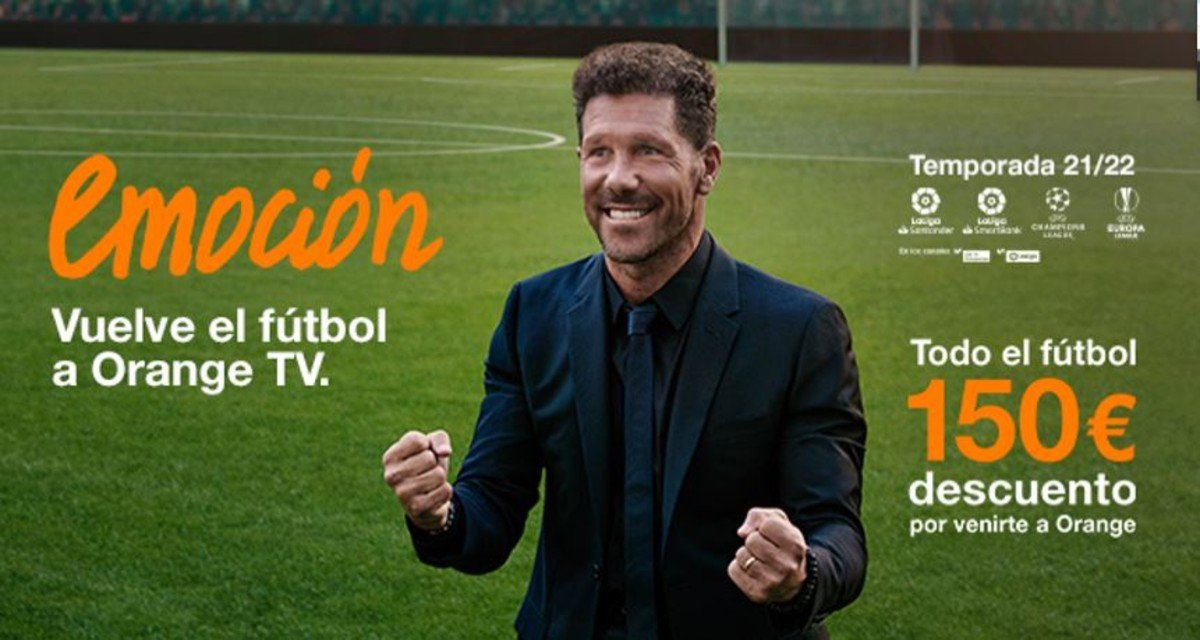 Oferta Orange fútbol 21-22