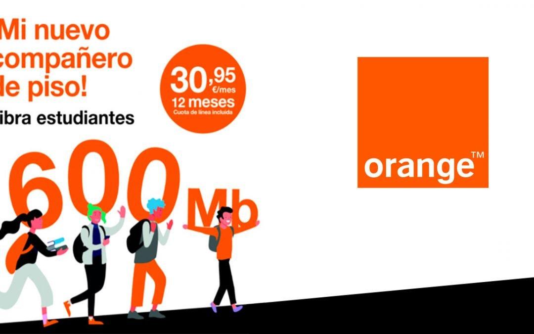 Orange mejora su oferta de fibra para estudiantes: más rápida y sin alta