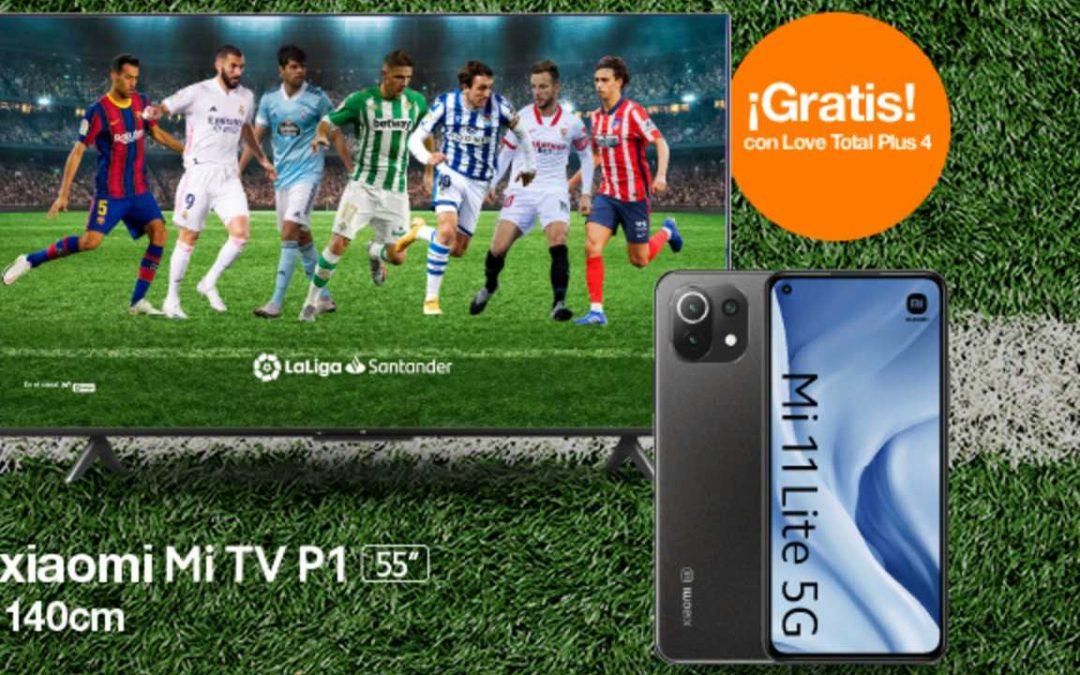Orange también se apunta a las smart TV gratis al contratar su pack más completo