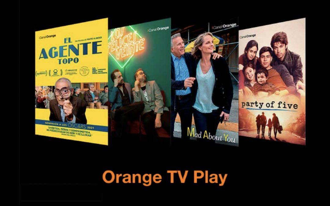 Orange TV Play se refuerza con siete nuevos canales de distintas temáticas