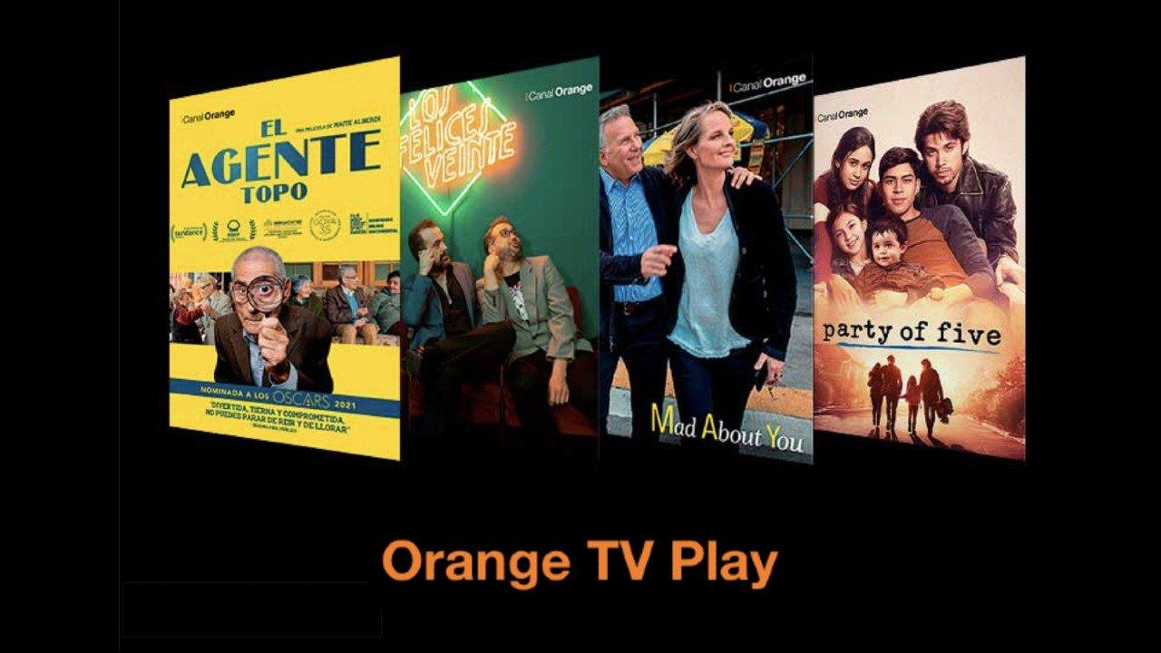 Orange TV Play 7 nuevos canales