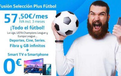 Movistar incluye ahora en Fusión una Smart TV de hasta 55″ gratis