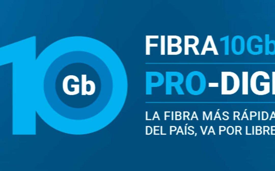 Digi estrena la fibra a 10 gigas en España, por sólo 30 euros al mes