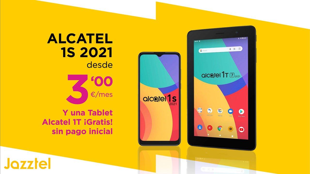 Jazztel pack smartphone y tablet, septiembre 2021