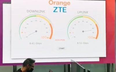 Orange lanza su fibra a 10 gigas en cinco ciudades, solo con sus packs más completos