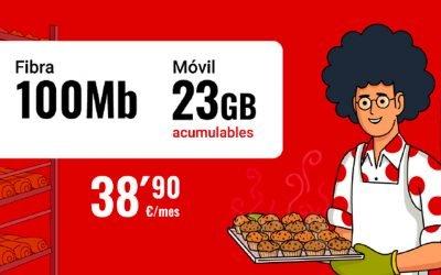 Pepephone sube de 10 a 23 GB su pack de fibra y móvil más barato, pero reduce su velocidad