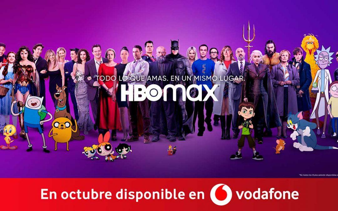 Vodafone sustituirá HBO por HBO Max manteniendo precios y condiciones