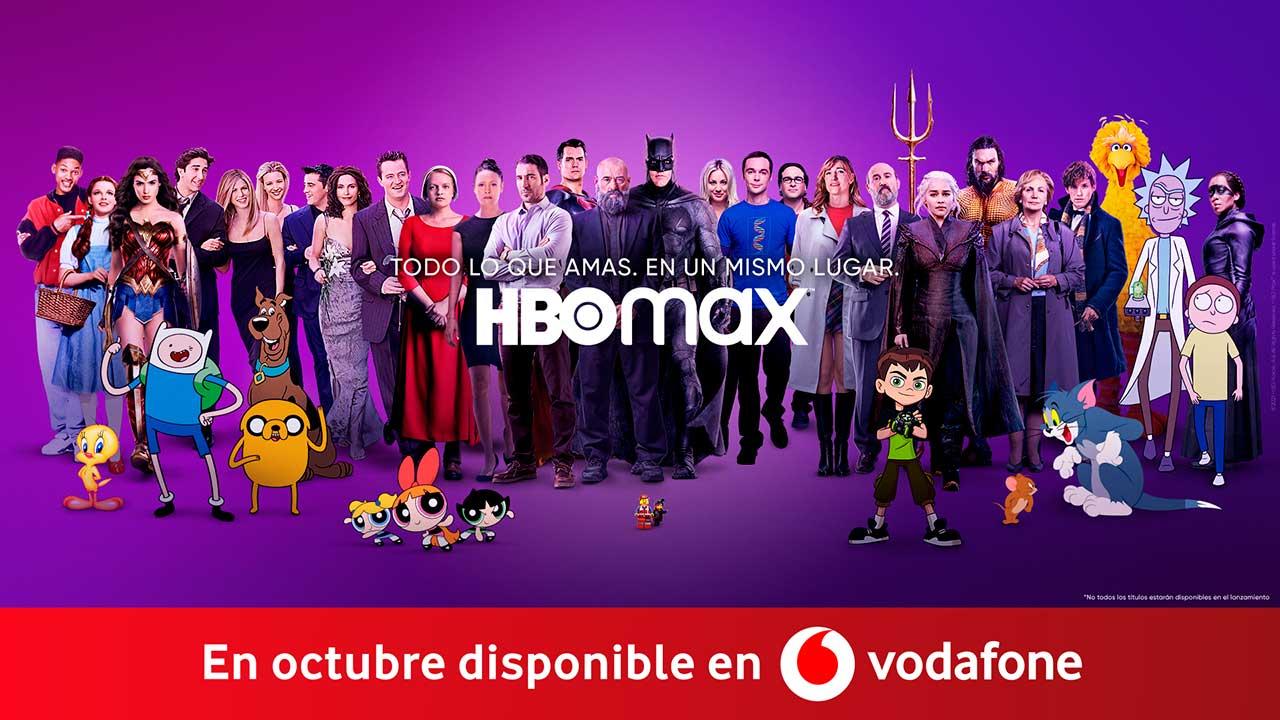 Vodafone HBO Max
