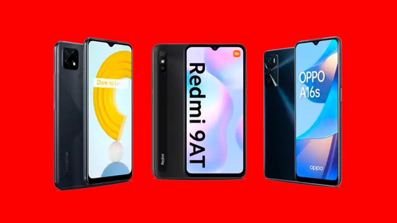 Vodafone smartphones gratis, septiembre 2021