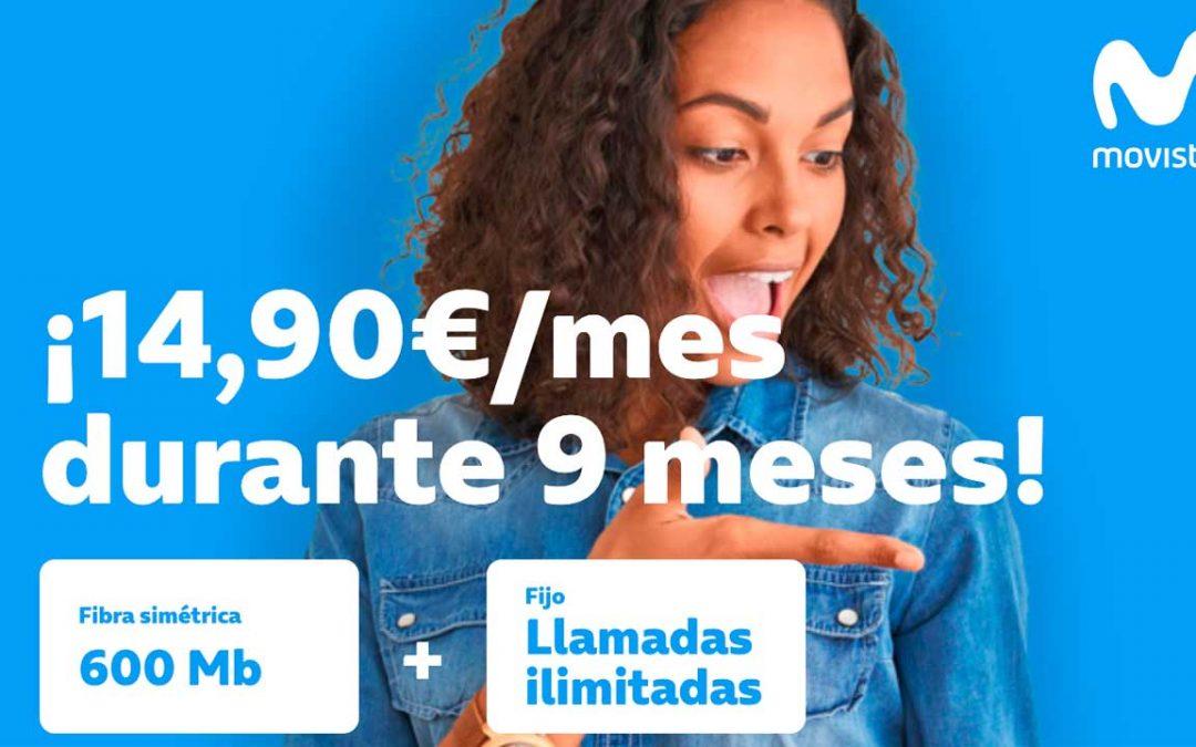 Movistar tiene de nuevo la mejor oferta de fibra: 600 megas por 14,95 euros al mes