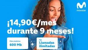 Movistar fibra 600 megas promoción