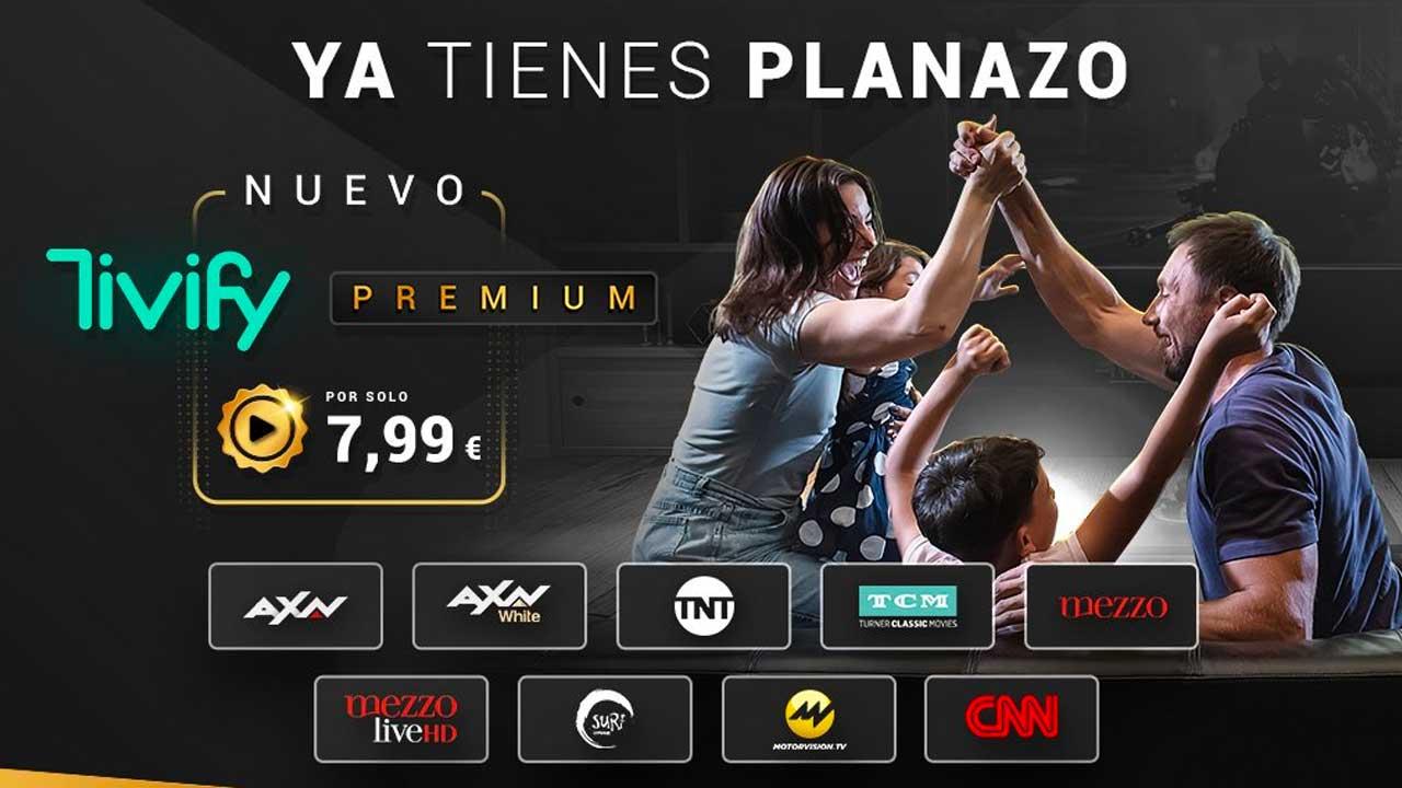 Tivify estrena plan premium